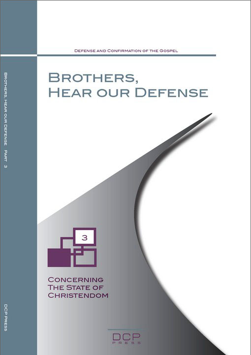 Brothers, Hear Our Defense (1)